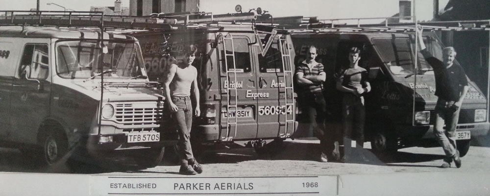 Bristol Aerial Express Van in 1968